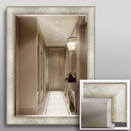 Оформление зеркала в багет